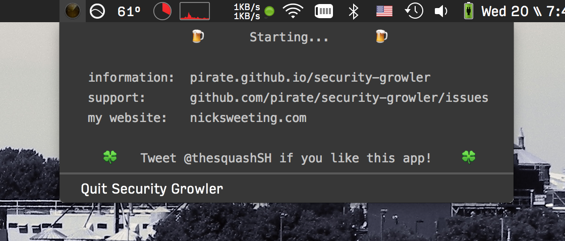 security growler by pirate